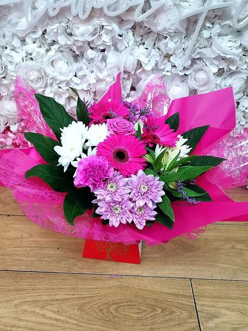 box cerise pink