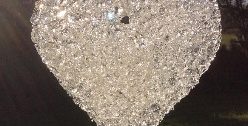 Crystal heart (small)