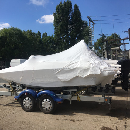 Réception bateau neuf