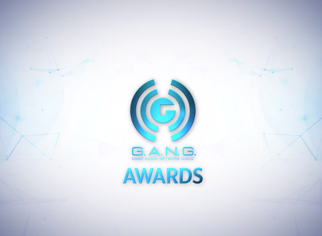 "G.A.N.G. Awards Nomination for ""Music Of The Year"" and ""Best VR Audio""!"