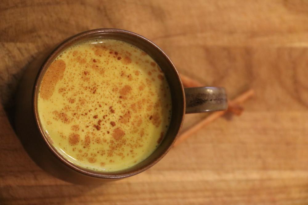 Vanilla Cayenne Golden Milk by Dr. Erin Stefanacci