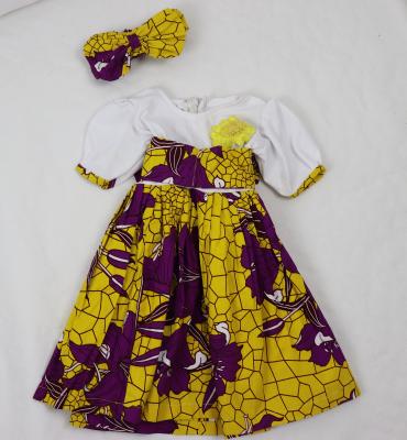 Kleid Gr. 92 mit Stirnband