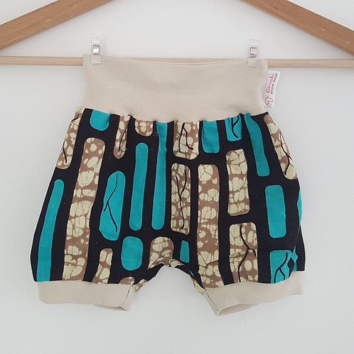 Chill- Shorts beige/blau Mauer