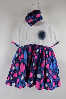 Kleid Gr. 98 mit Stirnband
