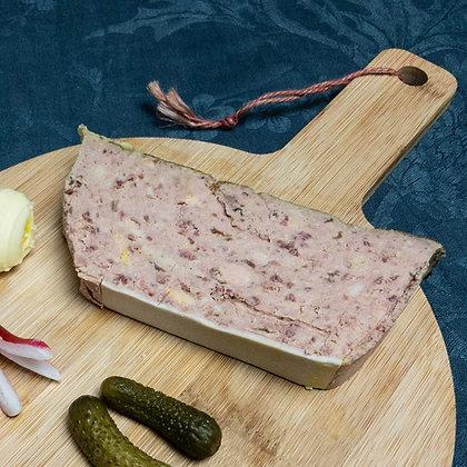 Terrine de canard foie gras et girolles
