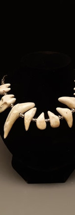 We Answer in a Voice Made of Teeth (necklace)