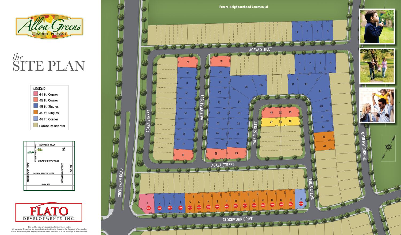 Flato Site Plan
