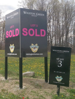 Large Sold Sign