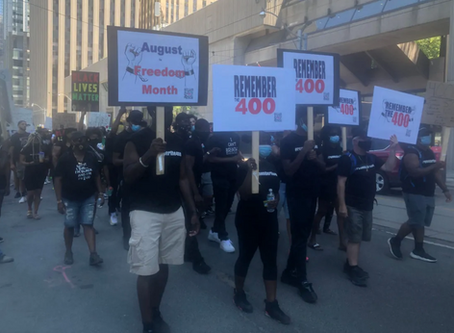 Caribbean community members hold rally, demanding anti-racism education within police, schools, work
