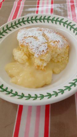 Lemom Souffle Pudding