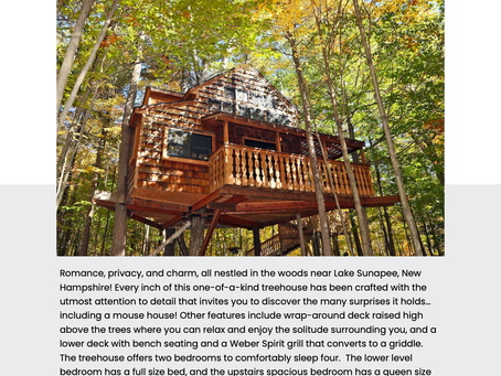 COOLEST AIRBNBS IN NEW HAMPSHIRE