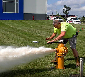 Private Fire Hydrant Inspection