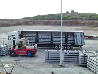 PROJECT CARGO: AKTIS transports 3.500 tons of sleepers blocks from Greece to Libya
