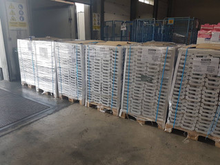 AKTIS AIR: Succesfully shipped and delivered 18tons of dairy products to Israel (2/2)