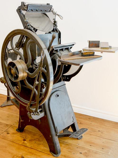 Presse à imprimer / Printing Press