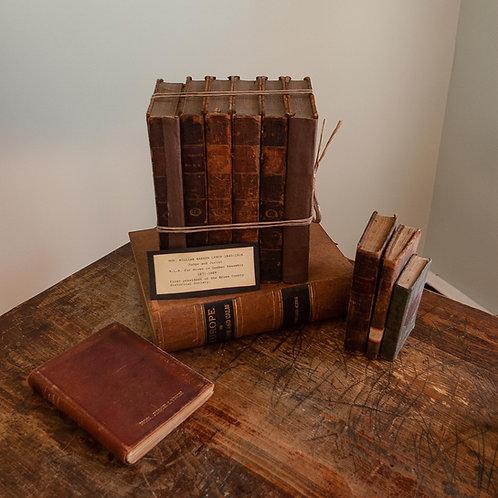 Livres de la bibliothèque de l'Honorable Lynch / Judge Lynch's Personal Library