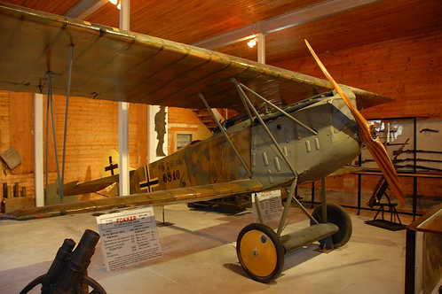 Le Biplan Allemand / German Biplane