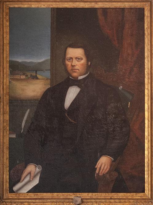 Portrait de A.B. Foster / Portrait of A.B. Foster