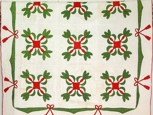 Courtepointe en coton / Cotton Quilt