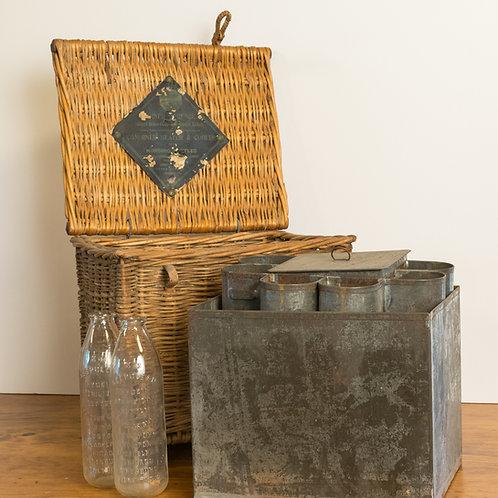 Panier à bouteilles / Bottle Basket