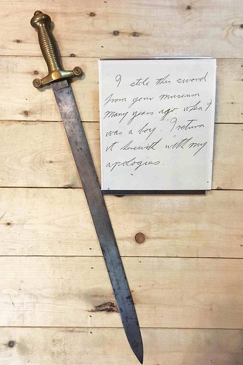 L'épée volée / Stolen Sword