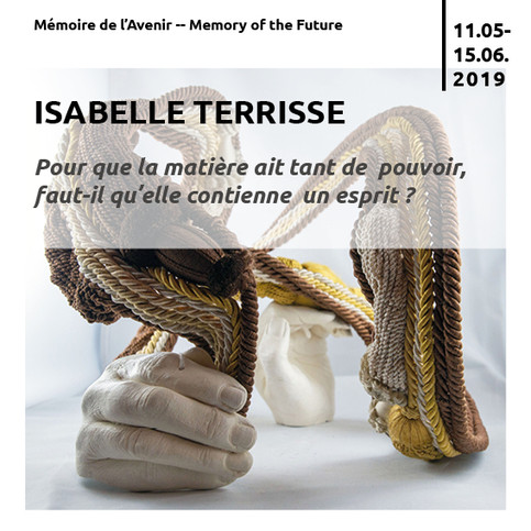 INVITATION- ISABELLE TERRISSE - 16 MAI 2