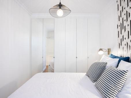 Visite privée : restructuration d'un appartement parisien destiné à la location