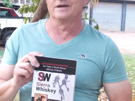 SW Fourie's paper copies arrived in South Africa