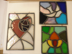 Stained Glass - student work