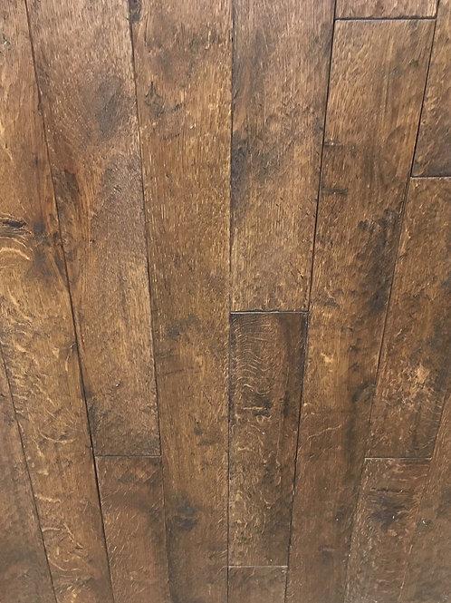 Rift & Quartered White Oak Handscraped Greystone