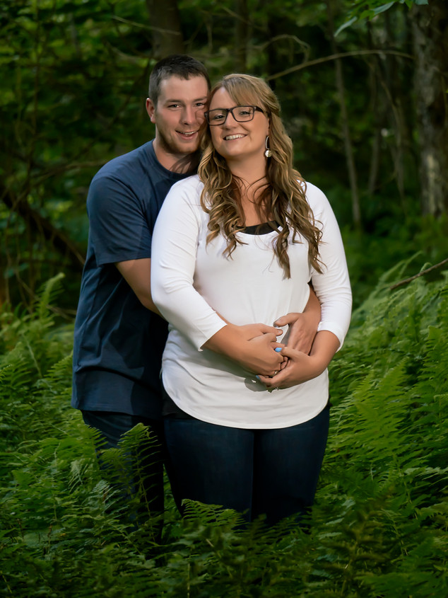Couple's Woodland Portrait