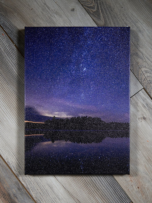 Milky Way Reflections, Canvas