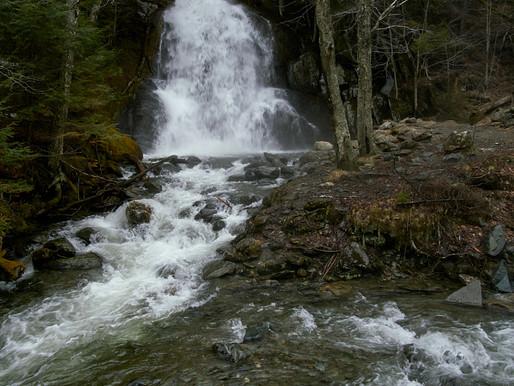 Moss Glen Falls South of Warren, VT