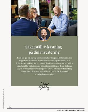Guide; Säkerställ avkastning på din investering