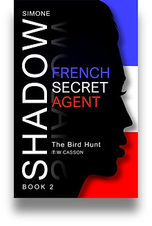 Front cover of Simone Shadow's 'The Bird Hunt'.