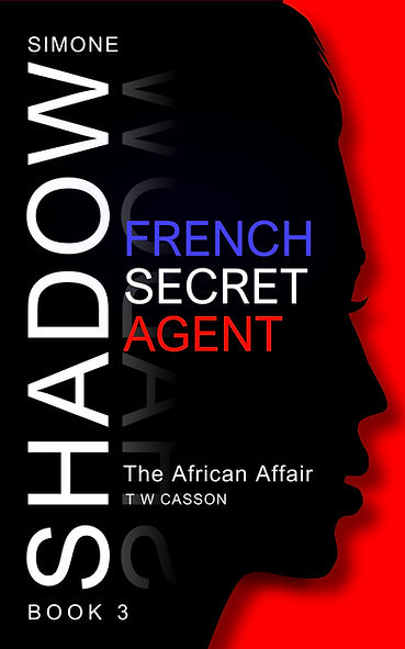 Front cover of Simone Shadow 'The African Affair' Thriller Series Zamoma