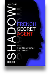 Front cover of Simone Shadow's 'The Contractor'.