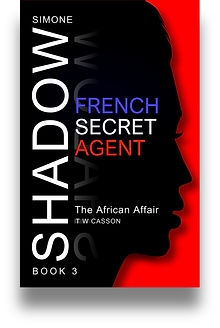 Front cover of Simone Shadow's 'The African Affair' Zamoma