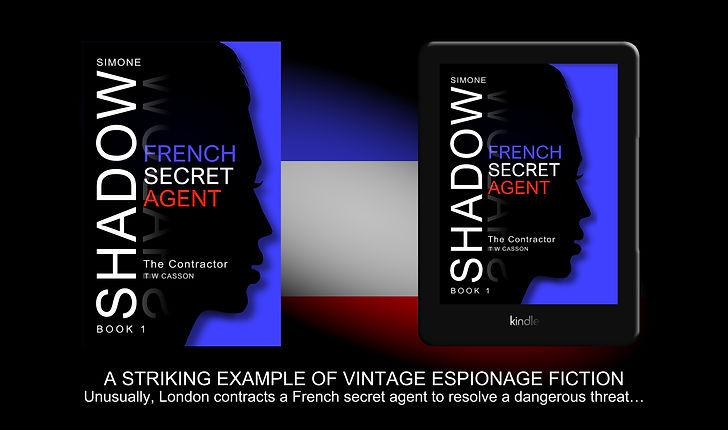 Simone Shadow French Secret Agent, Book 1, The Contractor in paperback and ebook