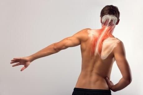 Masaż regeneracyjny odcinka szyjnego.