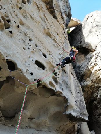 ecole 2 la Montagne Moniteur d'escalalde
