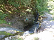 Stage jeune escalade Haute-Savoie