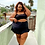 Thumbnail: Double Ruffle Black Skirt