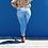 Thumbnail: Fringe Bottom Skinny Jeans