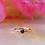 Thumbnail: Genuine Gemstone Fixed Bead Ring (forward facing)