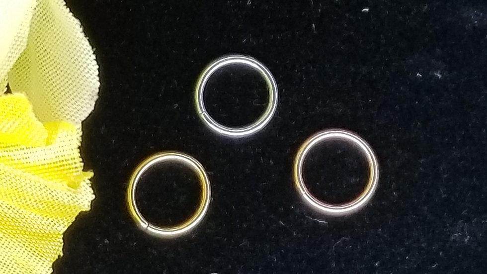 Gold Seam Rings