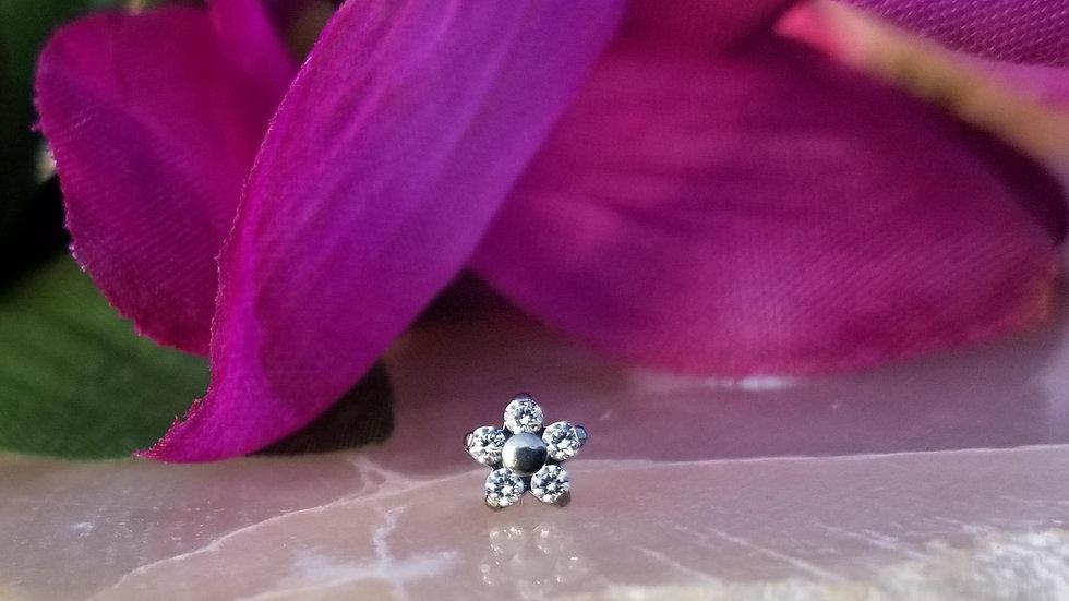 Implant Grade Titanium Threadless Flowers