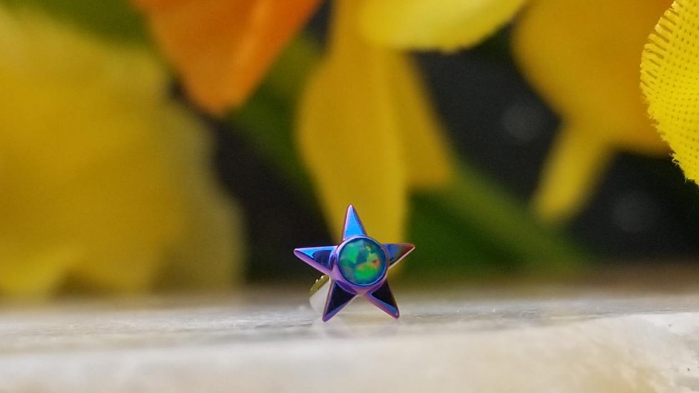 Gem Stars (14g Threaded)