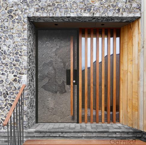 Вхідні двері з терморозривом