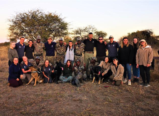 African Volunteer Group Photo